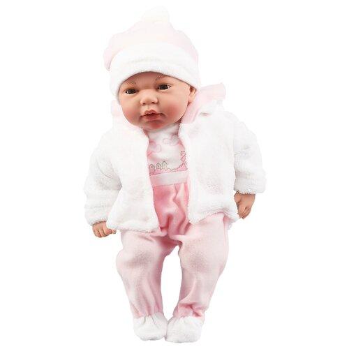 Интерактивный пупс Arias Elegance в розовой одежде, 38 см, Т16348 интерактивный пупс arias elegance в голубой одежде 45 см т11134