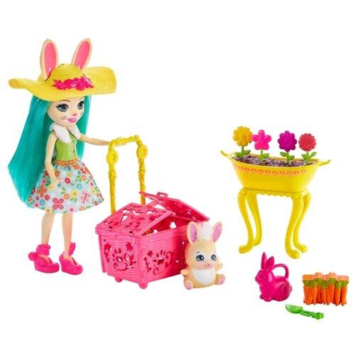 Купить Игровой набор Mattel Enchantimals Бри Кроля в саду GJX32, Игровые наборы и фигурки