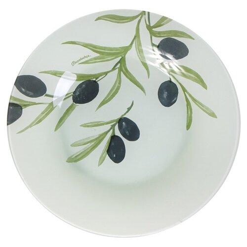 Pasabahce Тарелка десертная Oliva 19.5 см белый тарелка закусочная pasabahce family 19 5 см