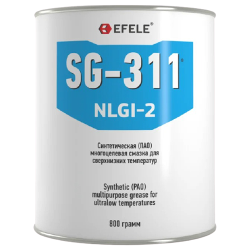 Фото - Смазка EFELE SG-311 0.8 кг смазка efele sg 311 0 4 кг