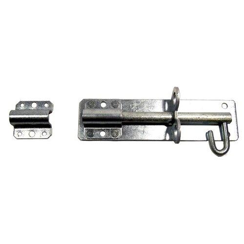 Механическая щеколда ЗМ Лось ЗД-150 серебристый