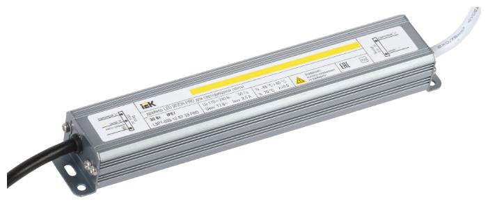 Блок питания для LED IEK LSP1-030-12-67-33-PRO 30 Вт