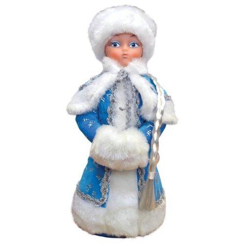 Фигурка Батик Снегурочка под елку, 35 см голубой