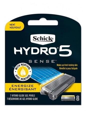 Сменные кассеты Schick Hydro 5 Sense Energize — купить по выгодной цене на Яндекс.Маркете
