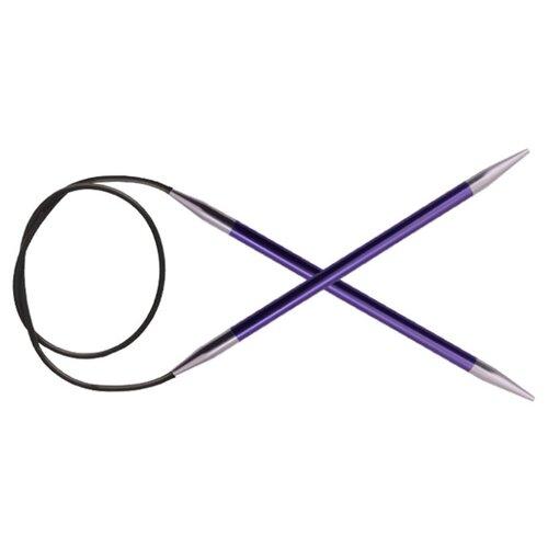 Купить Спицы Knit Pro Zing 47105, диаметр 7 мм, длина 60 см, аметистовый