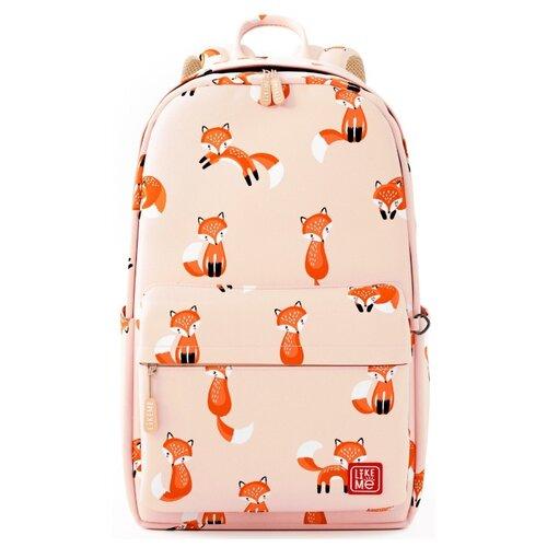 Купить Like Me рюкзак Teens Лисички, бежевый, Рюкзаки, ранцы