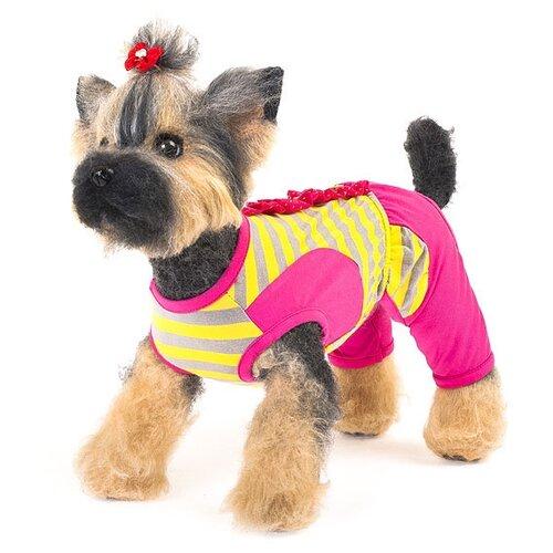 Костюм для собак HappyPuppy Дачный M розовый костюм для собак happy puppy дачный розовый размер 1