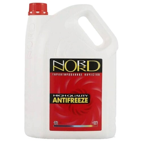 Антифриз NORD Красный 3 л nord nrb 139 932 нержавеющая сталь