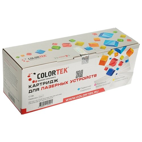 Фото - Картридж Colortek C-728, совместимый картридж colortek c mlt d104s совместимый