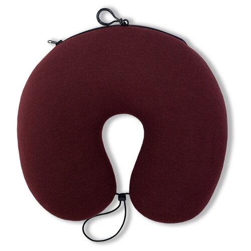 Подушка для шеи Штучки, к которым тянутся ручки Трансформер, бордовый