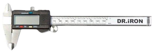 Цифровой штангенциркуль Dr.IRON DR6003 150 мм, 0.01