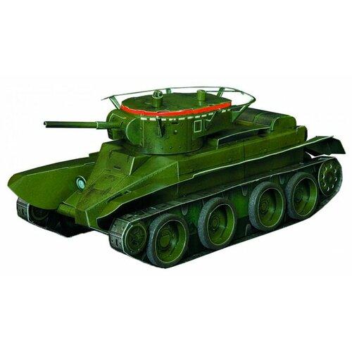 Сборная модель Умная Бумага Танк БТ-5 (210-01) 1:35