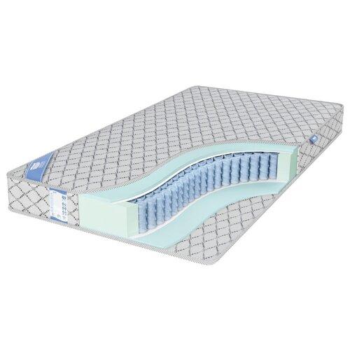 Матрас Промтекс-Ориент EcoMP Стандарт 2 180x200 пружинный серебристый матрас промтекс ориент ecomp стандарт 2 180x200 ортопедический пружинный серебристый