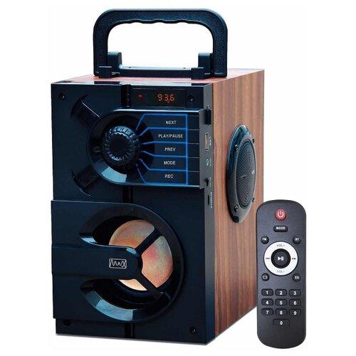 Портативная акустика Max MR-440 черный
