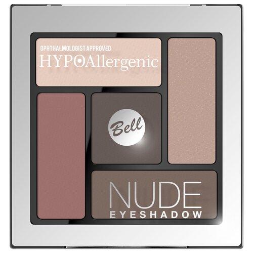 Bell Палетка теней HYPOAllergenic Nude Eyeshadow 01 bell палетка теней hypoallergenic eyeshadow palette 01