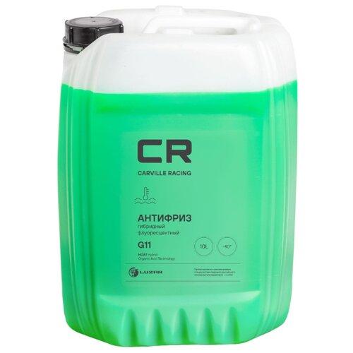 Фото - Антифриз CR гибридный флуор. -40°С, G11, зеленый, готовый, 10л/10.74кг (L2018106) антифриз carville racing тосол 10 л