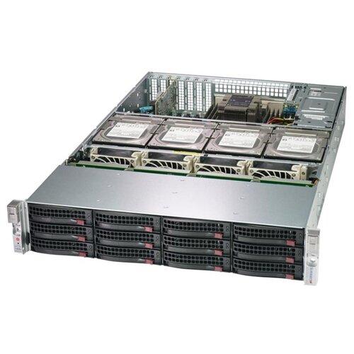 Сервер Supermicro SuperStorage 6029P-E1CR16T без процессора/без ОЗУ/без накопителей/количество отсеков 2.5\