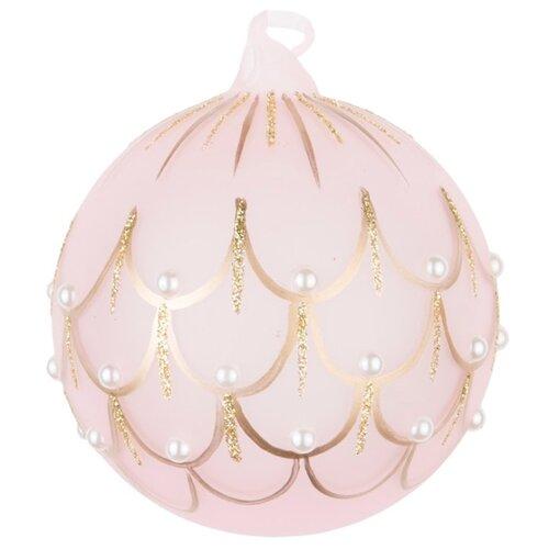 Набор шаров KARLSBACH 08722, розовый/золотистый