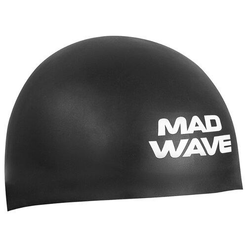 Шапочка для плавания MAD WAVE D-CAP черный M втулка задняя m wave 36 отверстий с гайками для трещетки 6 776