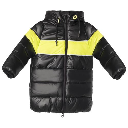 Пальто BOOM! by Orby 90869 размер 128-64-57, черный пальто boom размер 98 черный