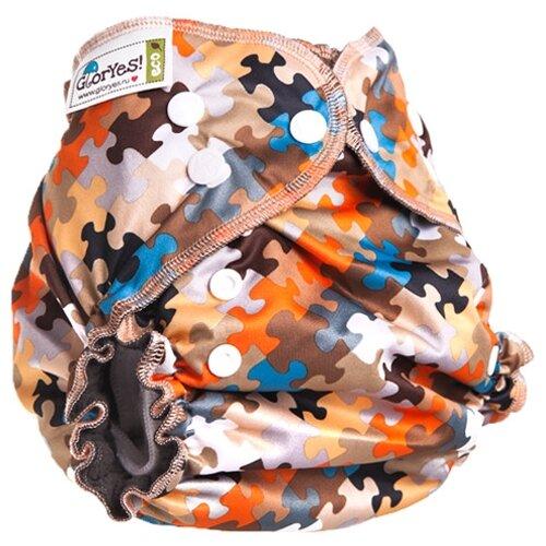 Купить GlorYes! подгузники Optima NEW (3-18 кг) 1 шт. пазл, Подгузники