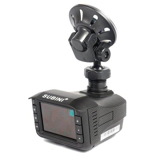 Видеорегистратор с радар-детектором Subini GR-H9Plus S GPS черный.