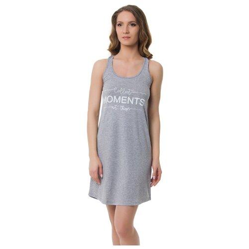 Сорочка Evelena размер XS серый платье oodji ultra цвет красный белый 14001071 13 46148 4512s размер xs 42 170