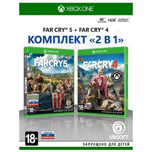 Игра для Xbox ONE Far Cry 4 + Far Cry 5