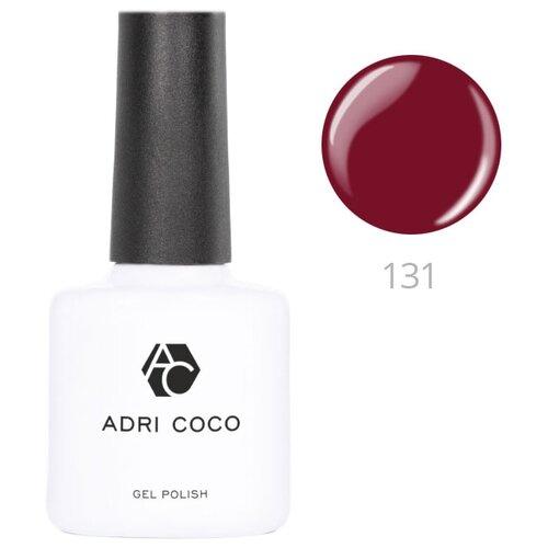 Гель-лак для ногтей ADRICOCO Gel Polish, 8 мл, 131 темно-вишневый