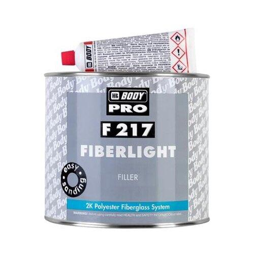 Комплект (шпатлевка, отвердитель) HB BODY PRO F217 Fiberlight 2000 мл