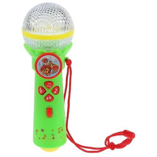 Купить Умка микрофон B1252960-R8-N зеленый, Детские музыкальные инструменты