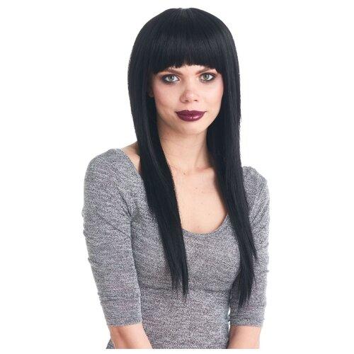 Парик женский искусственные волосы на резинке VIP-PARIK Kriss, черный/1