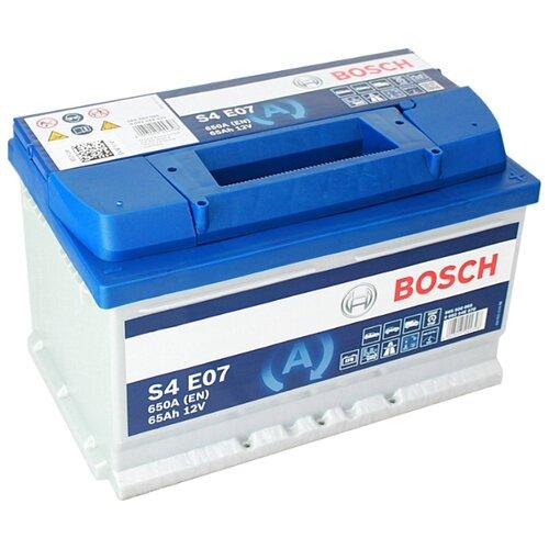 Автомобильный аккумулятор Bosch S4 E07 (0 092 S4E 070)