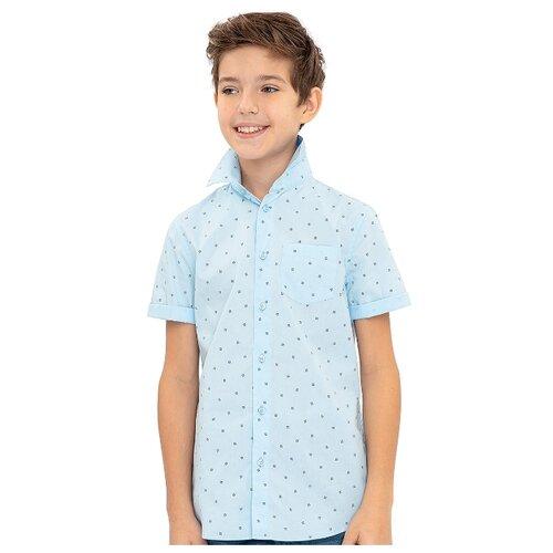Купить Рубашка Button Blue размер 104, голубой, Рубашки