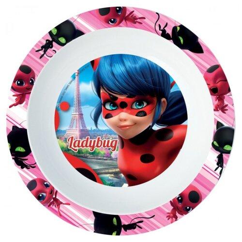 Фото - Stor Тарелка глубокая Леди Баг 20.5 см розовый stor тарелка леди баг 23 см красный