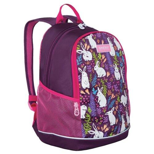 Купить Grizzly Рюкзак RG-063-1, фиолетовый, Рюкзаки, ранцы