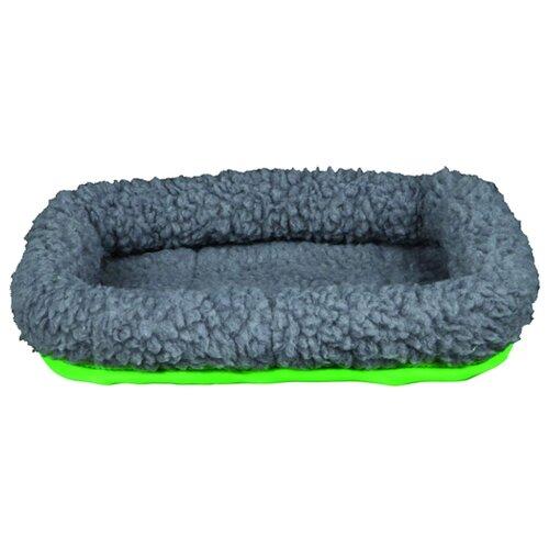 Лежанка для грызунов TRIXIE 62702 30х22 см серый/зеленый