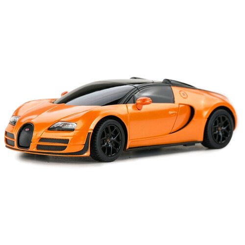 цена на Легковой автомобиль Rastar Bugatti Grand Sport Vitesse (47000) 1:24 оранжевый/черный