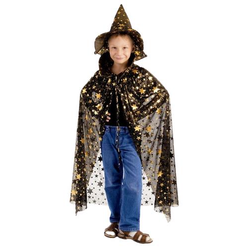 Купить Костюм Страна Карнавалия Звездочёт (1537879), черный/золотистый, Карнавальные костюмы