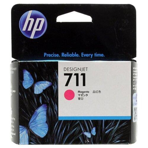 Картридж ориг. HP CZ131A (№711) пурпурный для DesignJet T120/T520 (29мл), цена за штуку, 186462
