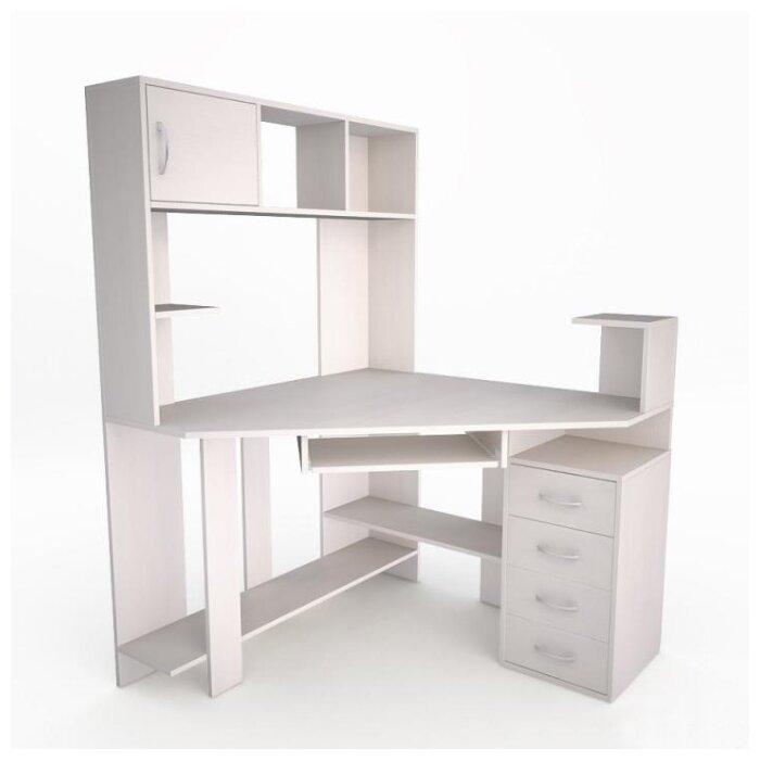 Компьютерный стол угловой Комфорт Лекс-10