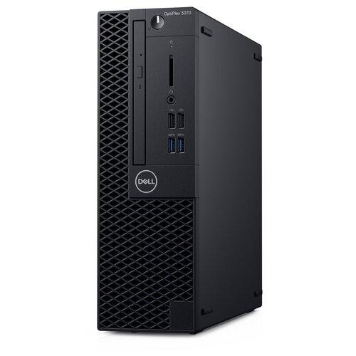 Настольный компьютер DELL OptiPlex 3070 SFF (3070-5512) Intel Core i3-9100/4 ГБ/1 ТБ HDD/Intel UHD Graphics 630/Windows 10 Pro черный dell optiplex 3060 7526 sff черный