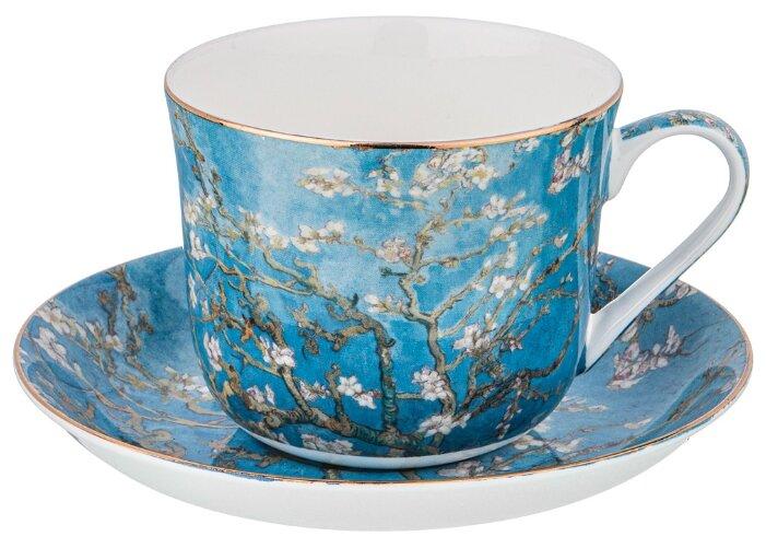 Чайная пара цветущие ветки миндаля 500 мл Lefard (104-652)
