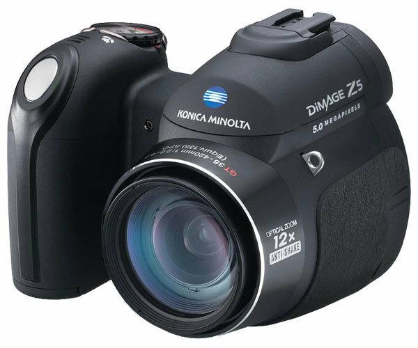 Фотоаппарат Konica Minolta DiMAGE Z5