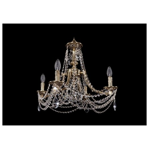Люстра Bohemia Ivele Crystal 1771 1771/4/190/C/GB, E14, 160 Вт люстра bohemia ivele crystal 1771 1771 16 410 c gb sh37 160 e14 640 вт