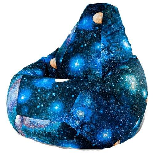 DreamBag Кресло-мешок Космос XL синий жаккард