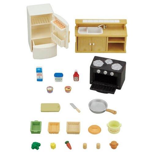Купить Игровой набор Sylvanian Families Кухня и холодильник 5289, Игровые наборы и фигурки