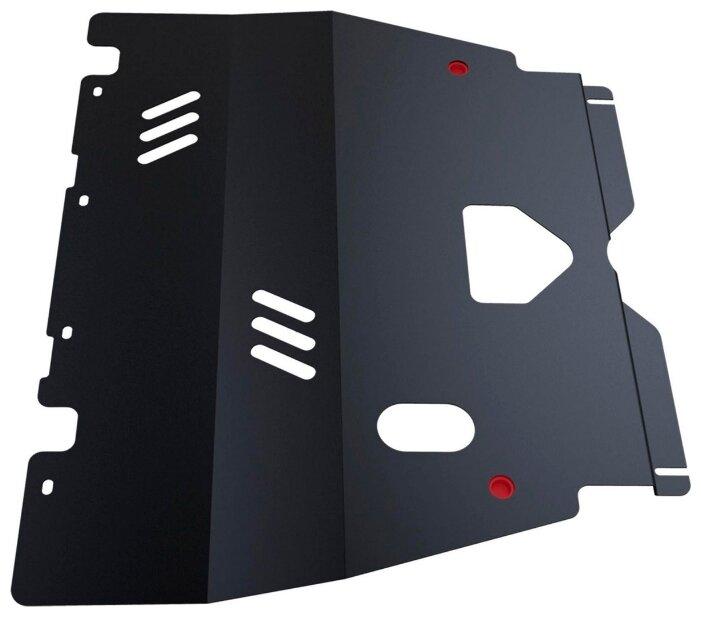 Защита картера двигателя и коробки передач Автоброня 111.04301.1 для Peugeot