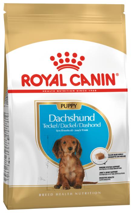 Корм для щенков Royal Canin Такса для здоровья костей и суставов
