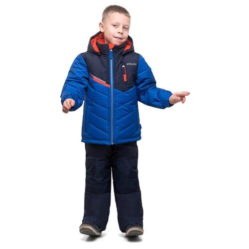 Комплект с полукомбинезоном Buki F19M703EG размер 119, синий, Комплекты верхней одежды  - купить со скидкой
